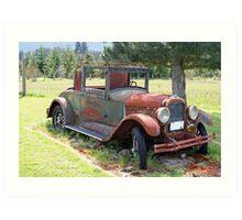 """""""1927 Pontiac 6"""" Art Print"""