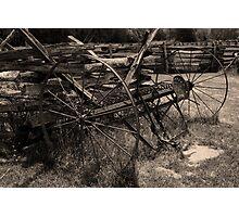 Hay Rake     Photographic Print