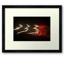 Crazy City 47 Framed Print