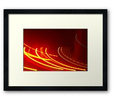 Crazy City 49 Framed Print