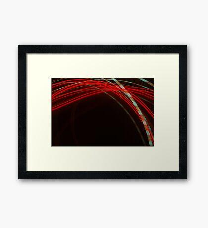 Crazy City 50 Framed Print
