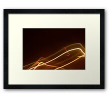 Crazy City 55 Framed Print