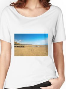 Along Whitby Sands Women's Relaxed Fit T-Shirt