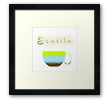 Pacific Northwest Coffee Lovers Framed Print