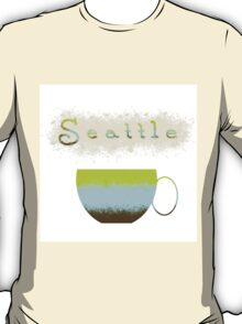 Pacific Northwest Coffee Lovers T-Shirt