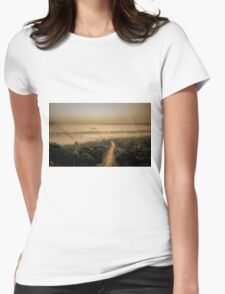 The Mist Womens Fitted T-Shirt