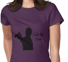 Rick Grimes:- Can't Go Back Womens Fitted T-Shirt