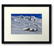 Val Avers, Switzerland Framed Print