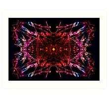 space-time Art Print