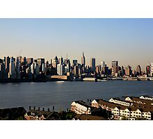 Manhattan on the Hudson ! Photographic Print