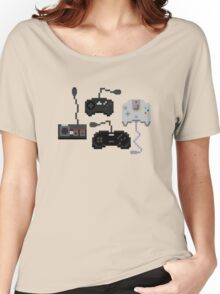 Pixel History - Sega Controllers Women's Relaxed Fit T-Shirt