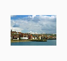 Tate Hill Pier and The Shambles, Whitby Unisex T-Shirt