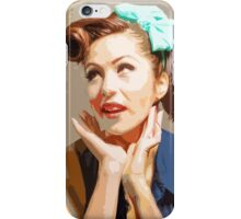 Yesteryear Coolness Forever iPhone Case/Skin