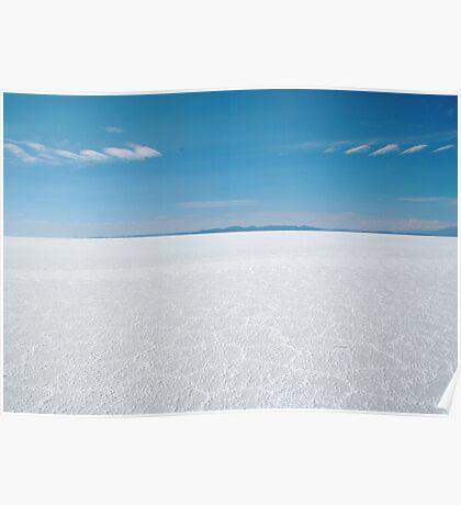 Salar de Uyuni Poster