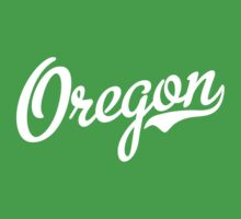 Oregon Script White by USAswagg2