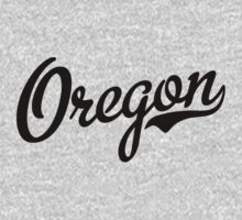 Oregon Script Black by USAswagg2