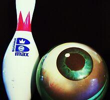 Bowling Pin and Eye by Barbara Morrison