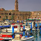 Acre port, Israel by Eyal Nahmias