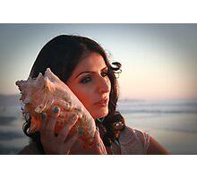 Hear The Ocean Photographic Print