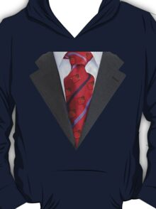 Suit with red tie T-Shirt
