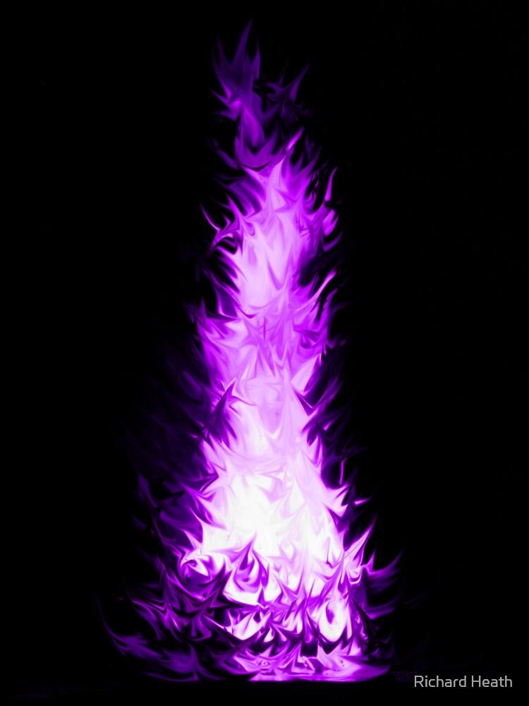 Fire Spikes 5 by Richard Heath