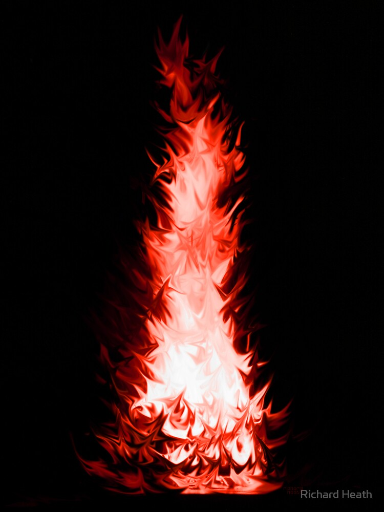 Fire Spikes 3 by Richard Heath