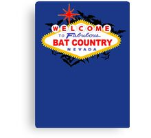 Bat Country Canvas Print