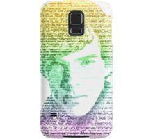 Sherlock Quote Rainbow Samsung Galaxy Case/Skin