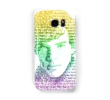 Sherlock Quote Rainbow Samsung Galaxy Case/Skin