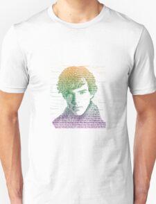 Sherlock Quote Rainbow T-Shirt