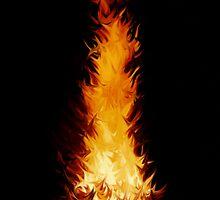 Fire Spikes 1 by Richard Heath