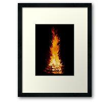Fire Spikes 1 Framed Print