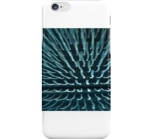 Abstract light rays iPhone Case/Skin