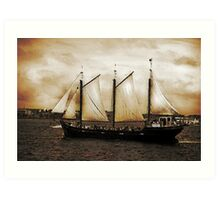 Tall Ship Silva Art Print