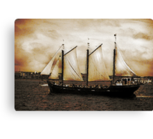 Tall Ship Silva Canvas Print