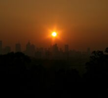 Smoked Melbourne I by Richard Heath