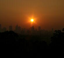 Smoked Melbourne I by Richard Heath