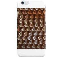 Colorful abstract light rays iPhone Case/Skin