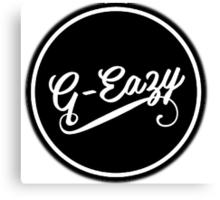 G-Eazy Logo Canvas Print