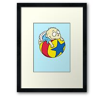 Tommy Pickles from The Rugrats Framed Print