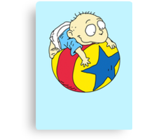 Tommy Pickles from The Rugrats Canvas Print