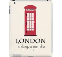 London Travel iPad Case/Skin