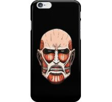 Colossal Titan (head) iPhone Case/Skin
