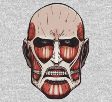 Colossal Titan (head) by lucassanchez