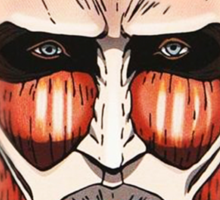 Colossal Titan (head) Sticker