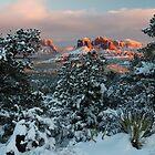 Frosty Arizona Sunset by Candy Gemmill