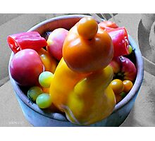 Diana's Veggies | Inspired by the love of peppers... Photographic Print
