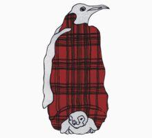 Tartan Penguin Kids Tee