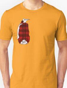 Tartan Penguin Unisex T-Shirt