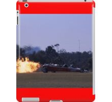 Flaming Dragster @ Caboolture Airshow 2004 iPad Case/Skin